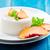 panna cotta with peaches stock photo © mpessaris