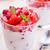 strawberry yoghurt stock photo © mpessaris