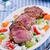 豚肉 · 焼き · コメ · ヌードル · 野菜 · 典型的な - ストックフォト © mpessaris