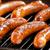 BBQ · kiełbasy · czerwony · mięsa · grill · mężczyzna - zdjęcia stock © mpessaris
