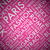 pink fashion word tag cloud typography texture background vector stock photo © mpfphotography