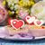 dia · dos · namorados · branco · prato · vermelho · corações - foto stock © mrakor