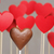 Valentine's day hearts on a stick with chocolate heart stock photo © mrakor