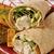 frango · tortilla · salada · jantar · prato - foto stock © msphotographic