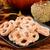 pumpkin pie pretzels and caramel apples stock photo © msphotographic