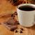 cioccolato · latte · fagioli · piedi · cucchiaio · bianco - foto d'archivio © msphotographic