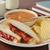 Бутерброды · Арахисовое · масло · клубника · желе · сэндвич · хлеб - Сток-фото © msphotographic