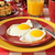 fried eggs and pancakes stock photo © msphotographic
