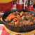 beef stew in a cast iron skillet stock photo © msphotographic