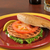 salmon burger stock photo © msphotographic