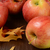 gala · appels · glas · kom · voedsel · Rood - stockfoto © msphotographic
