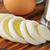 sliced hard boiled egg stock photo © msphotographic
