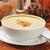 сквош · суп · чаши · хлеб · оранжевый · обеда - Сток-фото © msphotographic