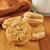 peanut butter cream sandwich cookies stock photo © msphotographic