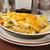 рыбы · картофеля · продовольствие · обед · еды · лосося - Сток-фото © msphotographic