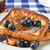 francés · brindis · arándanos · frescos · mesa · de · picnic · alimentos - foto stock © msphotographic