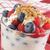 yoghurt · gezonde · vers · fruit · mint · vruchten · leven - stockfoto © msphotographic