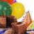 partij · kaarsen · plakje · verjaardagstaart · kinderen · verjaardag - stockfoto © msphotographic