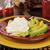 cottage · cheese · salade · aardbei · mandarijn- · sinaasappelen · blad - stockfoto © msphotographic