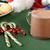 karácsony · sütik · forró · csokoládé · fából · készült · tálca · kényelmes - stock fotó © msphotographic