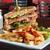 blt · sandwich · vers · eigengemaakt · spek - stockfoto © msphotographic