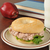 tunafish sandwich on a bagel with schoolbooks stock photo © msphotographic
