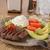 мяса · салата · авокадо · голубой · сыр · продовольствие · Салат - Сток-фото © msphotographic