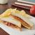 fıstık · ezmesi · sandviç · yatay · fotoğraf - stok fotoğraf © msphotographic