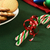 candy canes and christmas cookies stock photo © msphotographic