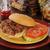 marhahús · szendvics · barbecue · makaróni · sajt · vacsora - stock fotó © msphotographic