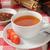 красный · чай · белый · Кубок · пить · свободный - Сток-фото © msphotographic