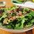 レタス · ほうれん草 · サラダ · 石 · 表 · 先頭 - ストックフォト © msphotographic