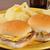 чизбургер · свежие · серый · продовольствие · мяса · Салат - Сток-фото © msphotographic