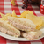 tonhal · szendvics · sültkrumpli · cheddar · sajt · burgonyaszirom - stock fotó © msphotographic