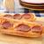 mini · pizza · vágódeszka · kenyér · sajt · ebéd - stock fotó © msphotographic