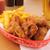 жареная · курица · картофель · фри · свежие · Салат · продовольствие · ресторан - Сток-фото © msphotographic