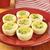 spinazie · plakje · uit · houten · tafel · eieren · groenten - stockfoto © msphotographic