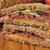 rundvlees · sandwich · Open · voedsel · plantaardige · vers - stockfoto © msphotographic
