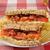domuz · pastırması · marul · domates · sandviç · patates · kızartması · kola - stok fotoğraf © msphotographic