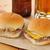 caneca · cerveja · burger · isolado · vidro · pão - foto stock © msphotographic