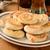 mini · isolado · cozinha · banco · pão · jantar - foto stock © msphotographic
