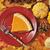 zoete · aardappel · pompoen · taart · plakje · slagroom · selectieve · aandacht - stockfoto © msphotographic