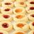 クッキー · ジャム · 素朴な · 表 · 食品 · 背景 - ストックフォト © msphotographic