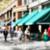 тротуаре · кафе · расплывчатый · люди · город · женщины - Сток-фото © msphotographic