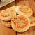 mini · tabela · caseiro · pizza · ovo · frito · páscoa - foto stock © msphotographic