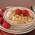 greek yogurt with raspberries stock photo © msphotographic