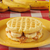 peanut butter and banana sandwich on a waffle stock photo © msphotographic