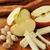 saine · casse-croûte · pistache · noix · pommes · chaîne - photo stock © MSPhotographic