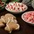 Рождества · конфеты · зеленый · счастливым · фон · зима - Сток-фото © msphotographic