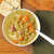 split pea soup with ham stock photo © msphotographic